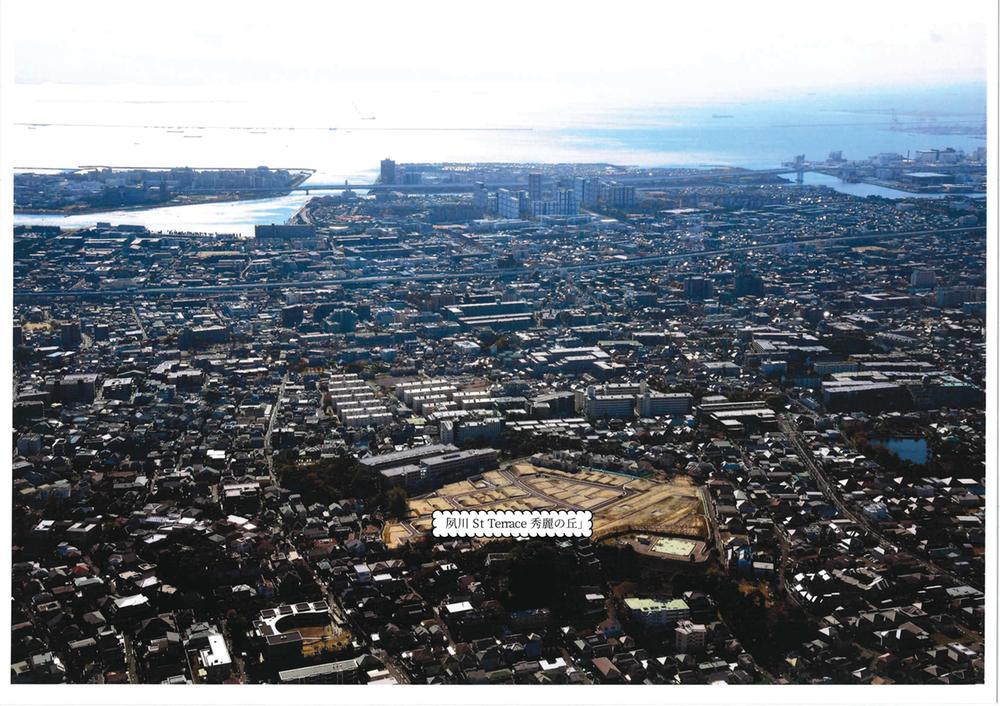 上空から見た現地(2019年11月)撮影
