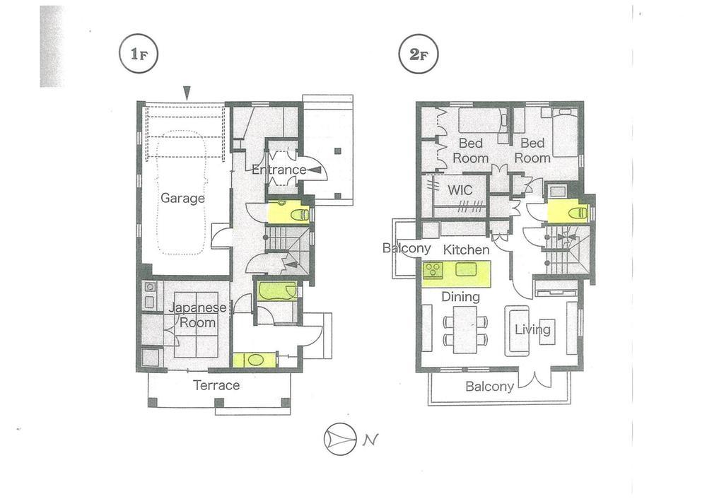 土地価格160万円、土地面積180.12m<sup>2</sup> 参考プラン:物件は建築条件無し