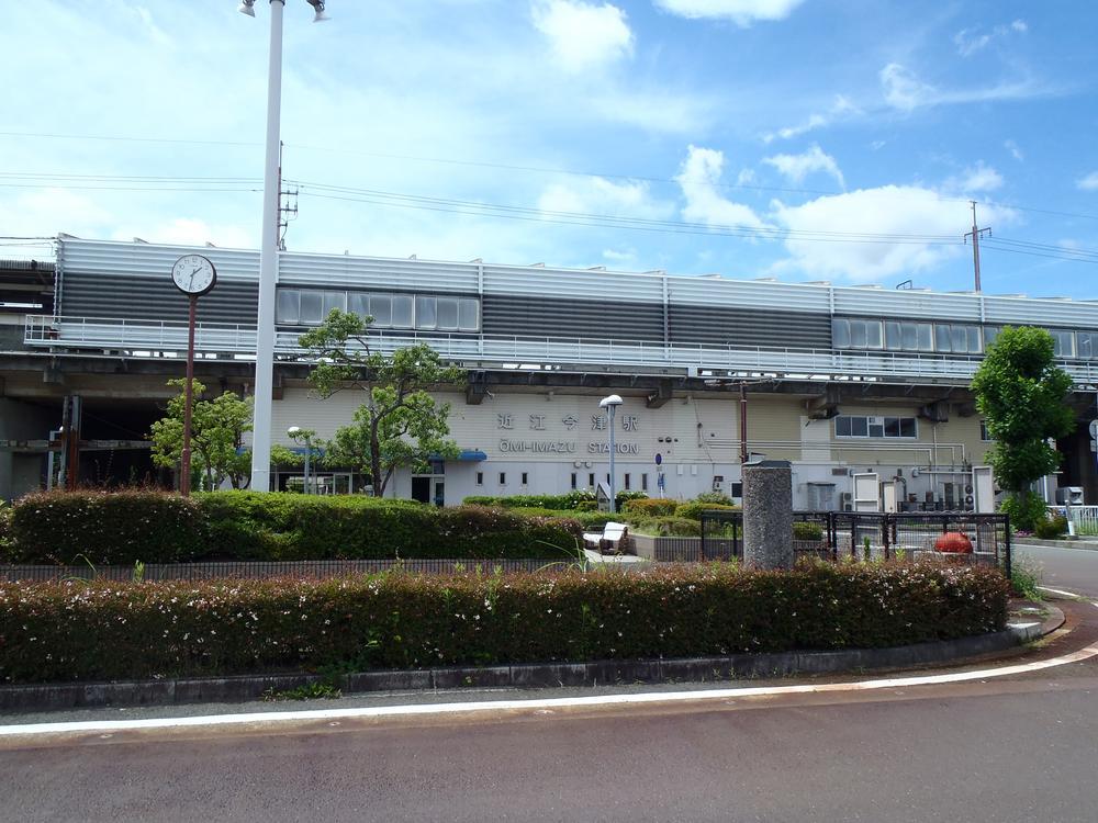 湖西線近江今津駅まで2000m