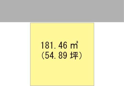 土地価格603万8000円、土地面積181.46m<sup>2</sup>