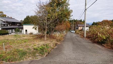 南側幅員5m道路<BR>現地(2019年11月)撮影