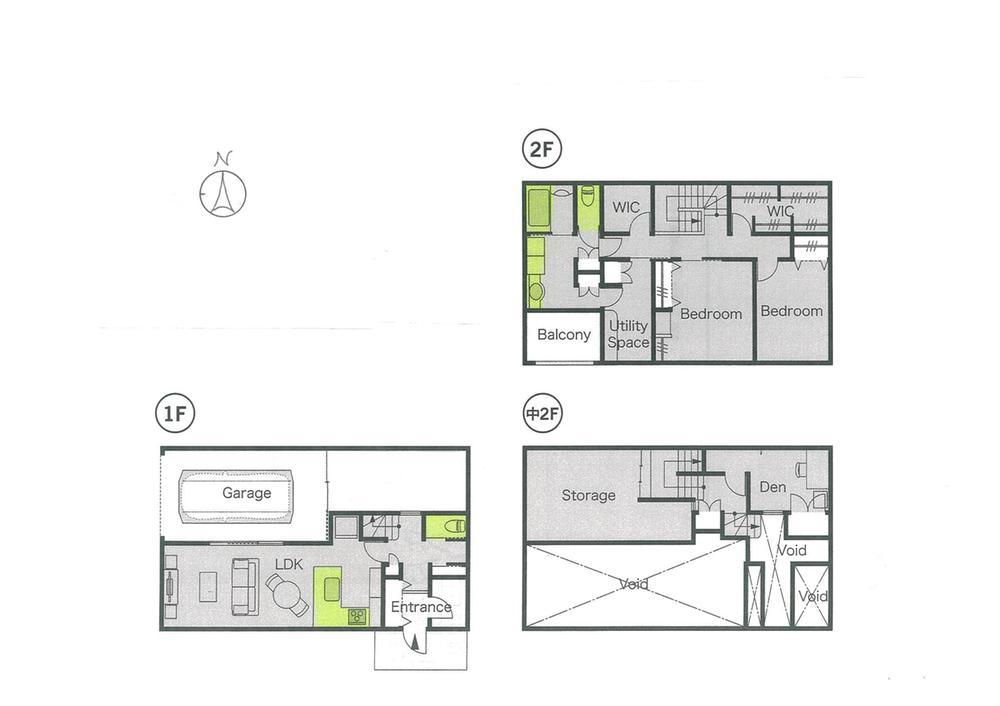 土地価格150万円、土地面積300m<sup>2</sup> 推奨プラン「ビルトイン・ガレージハウス」
