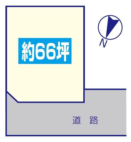 土地価格470万円、土地面積220.89m<sup>2</sup>