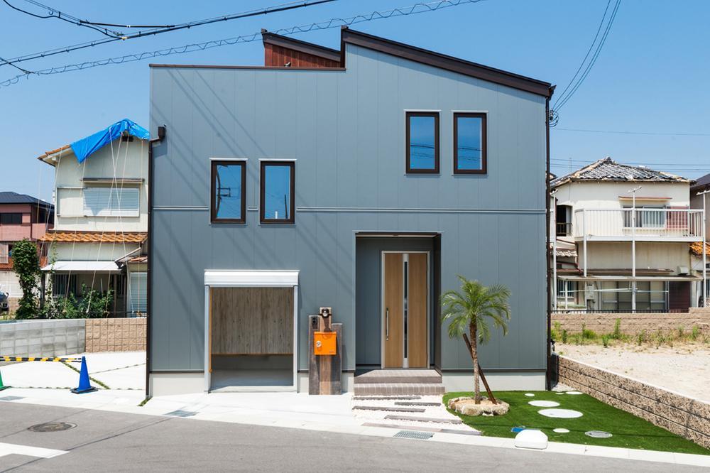 現地モデルハウス【屋上ガーデンのある家~BinO Earth Park】