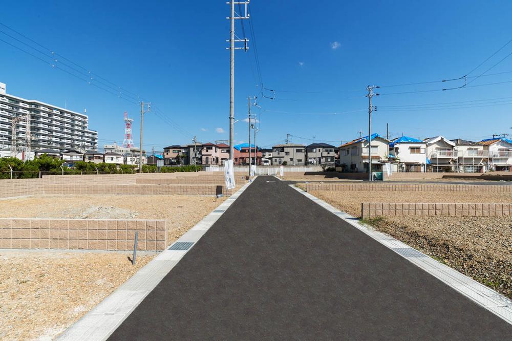 【貝塚市小瀬】土地約30坪~57坪!主要道路から少し離れた静かな環境の住宅街です。
