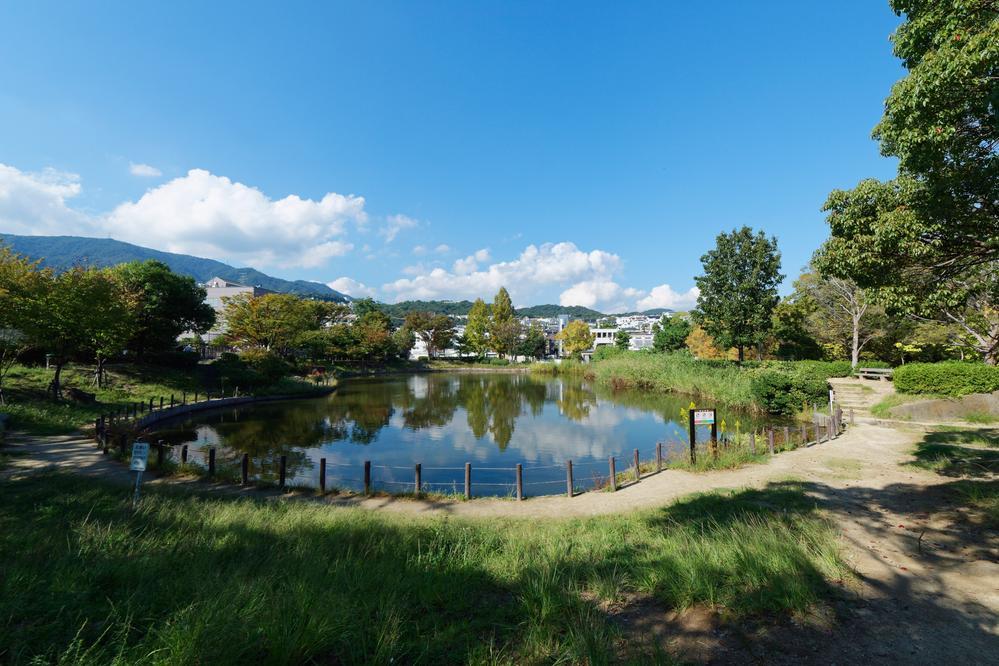 樋之池公園まで720m 体育館・テニスコート・プール(夏季のみ)のほかに、樋之池・遊具広場があります。季節ごとに野鳥が多く訪れるので、バードウォッチングもでき、夙川地域の市民の憩いのスペースとなっています。