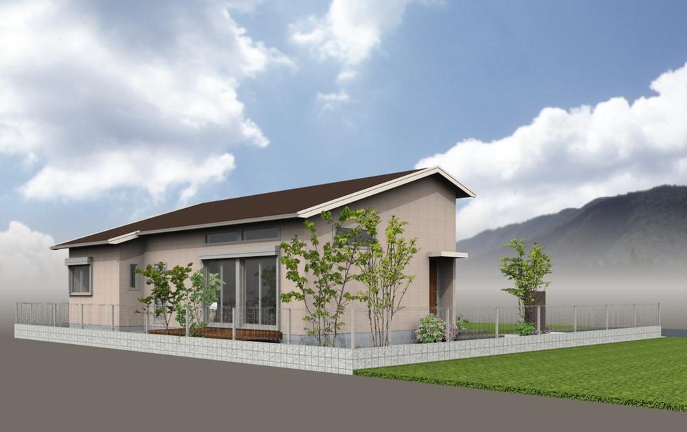 建物プラン例(6号地)ミサワホームの「平屋プラス蔵」建物です☆建物価格      2400万円、建物面積78.04m<sup>2</sup> 生活空間面積102.88m<sup>2</sup>(蔵収納面積含む)