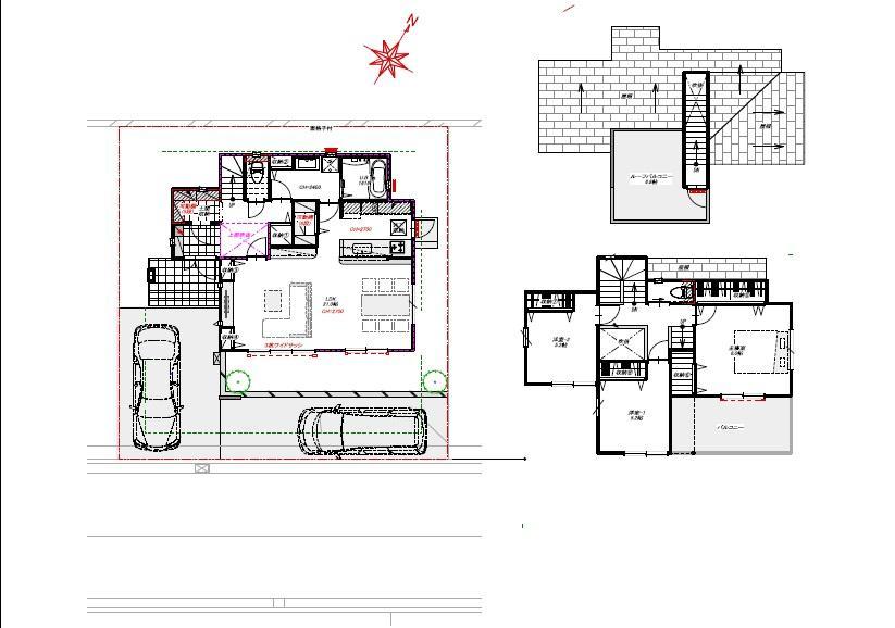 (モデルハウス)、価格4160万円、3LDK、土地面積159.71m<sup>2</sup>、建物面積103.82m<sup>2</sup>