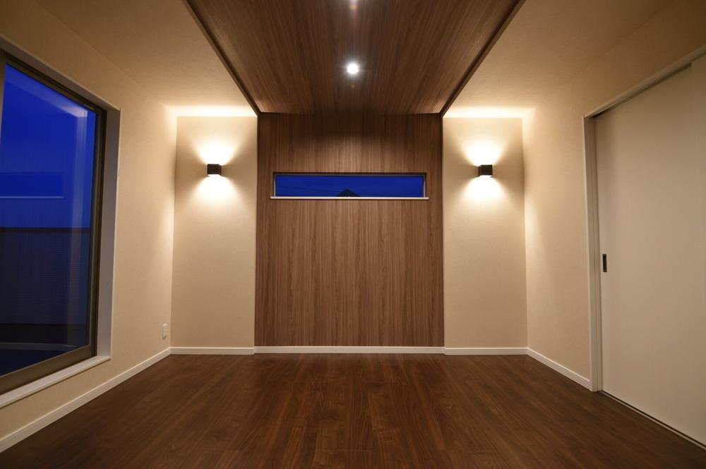 高級ホテルをイメージした主寝室です。<BR>現地にてモデルハウスの御見学可能です。