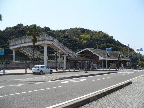 広川ビーチ駅まで2005m