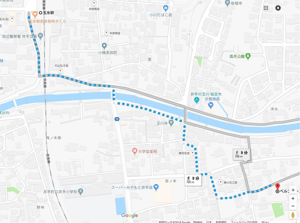 JR奈良線「玉水駅」徒歩9分