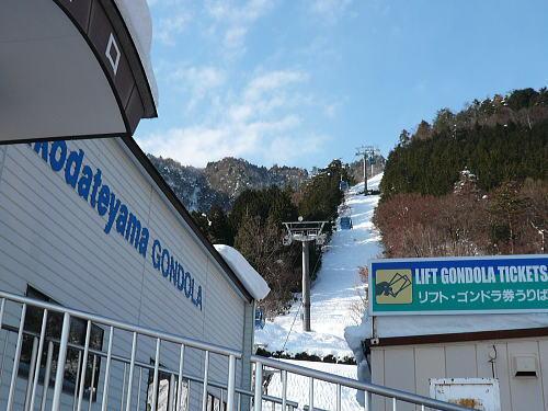 箱館山まで4600m