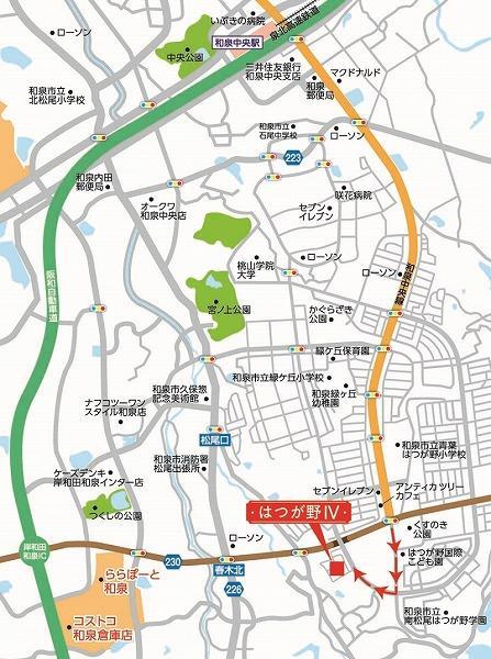 \人気の和泉中央エリアに90区画の大型分譲地が誕生!全区画51坪以上のゆとりある敷地が魅力!/