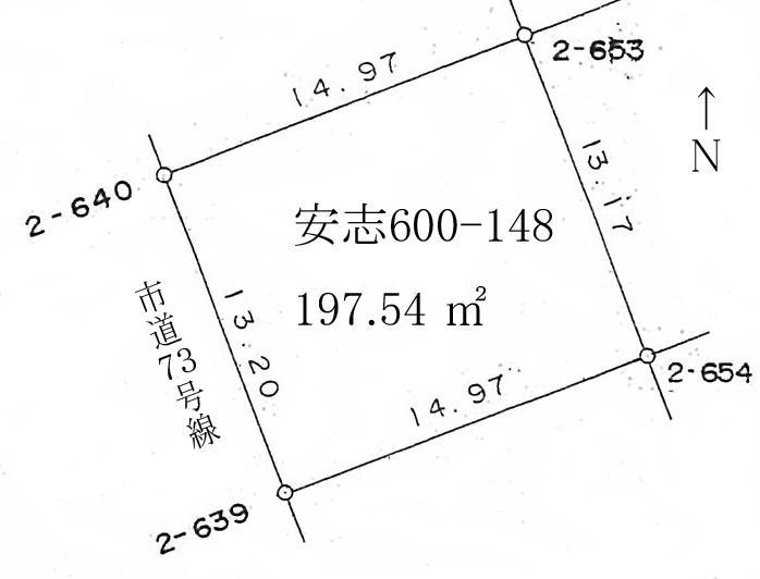 土地価格478万円、土地面積197.54m<sup>2</sup>