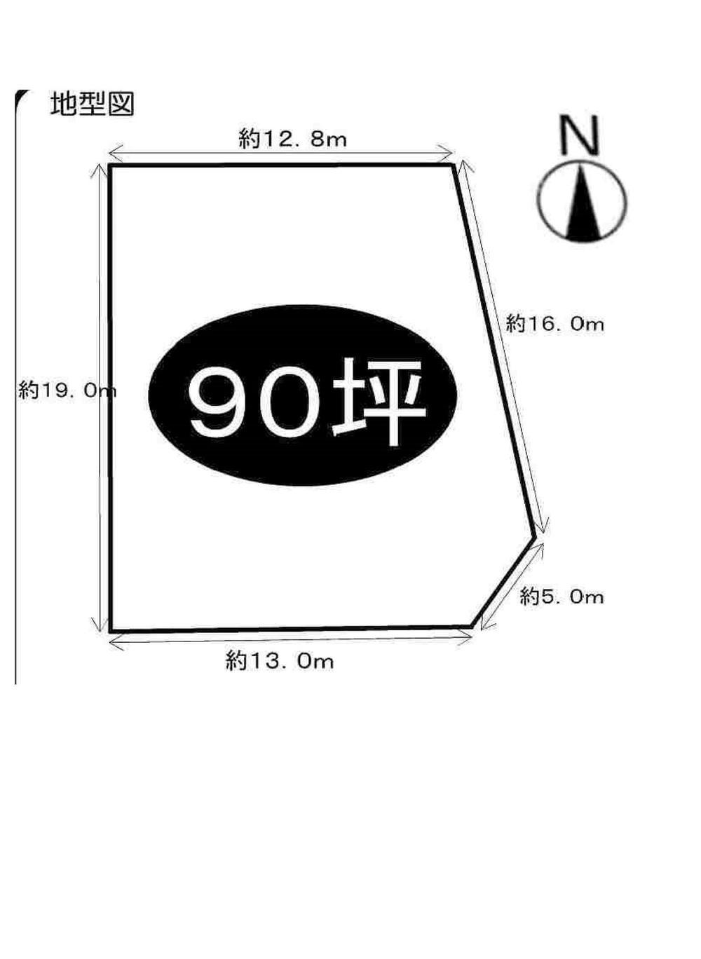 土地価格980万円、土地面積298.02m<sup>2</sup>