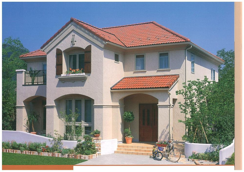 建物プラン例、土地価格1400万円、土地面積273m<sup>2</sup>、建物価格2000万円、建物面積120m<sup>2</sup> 建物プラン例(同仕様)