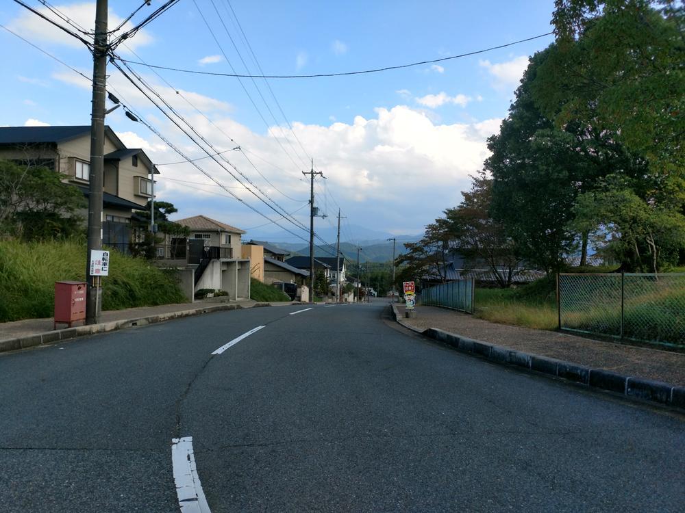 現地周辺からの景観<BR>(2018年10月撮影)