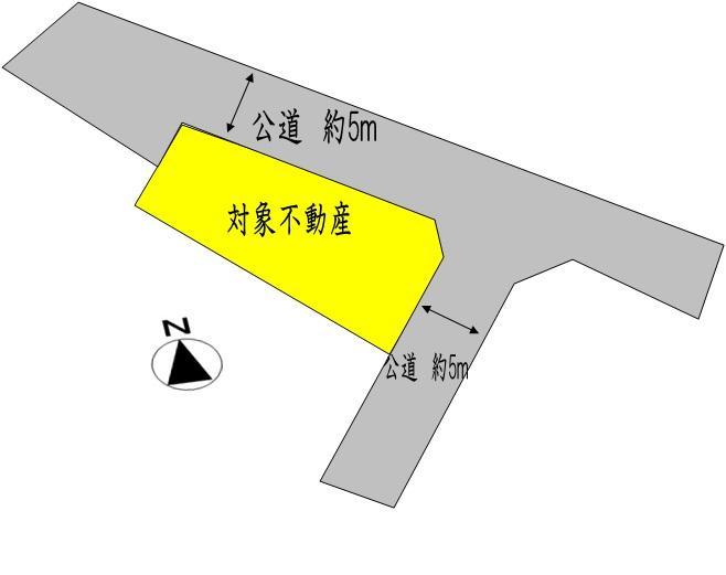 土地価格990万円、土地面積244m<sup>2</sup>