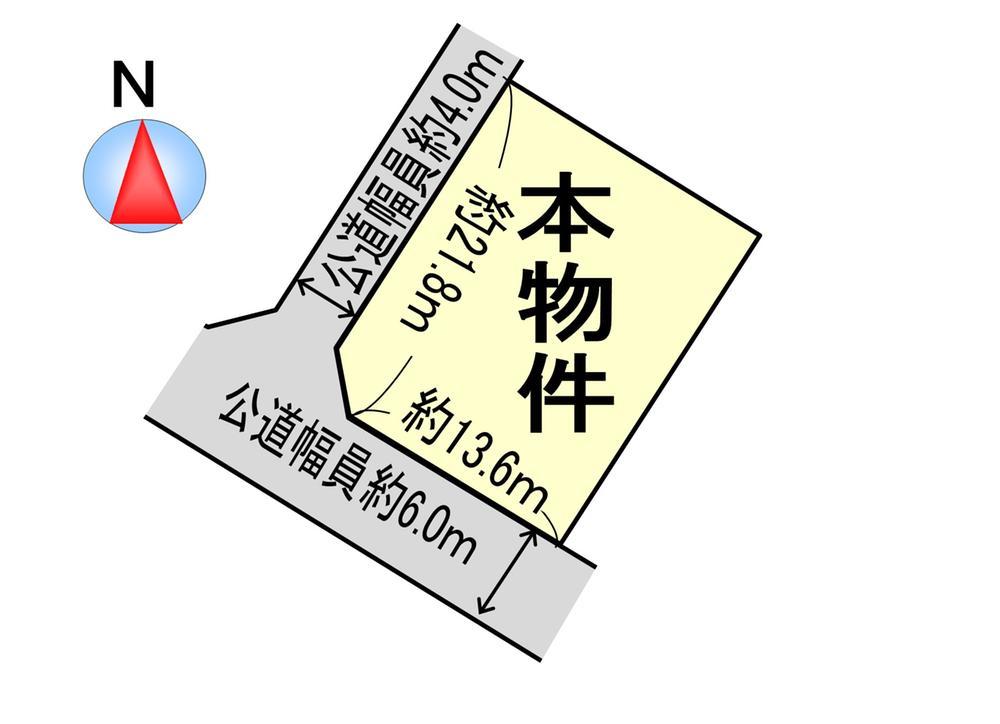 土地価格2128万円、土地面積335m<sup>2</sup>