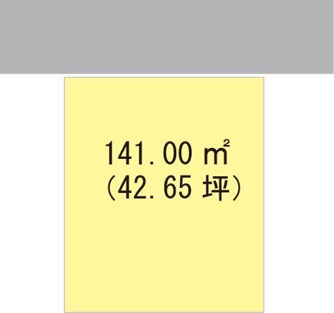 土地価格341万2000円、土地面積141m<sup>2</sup>