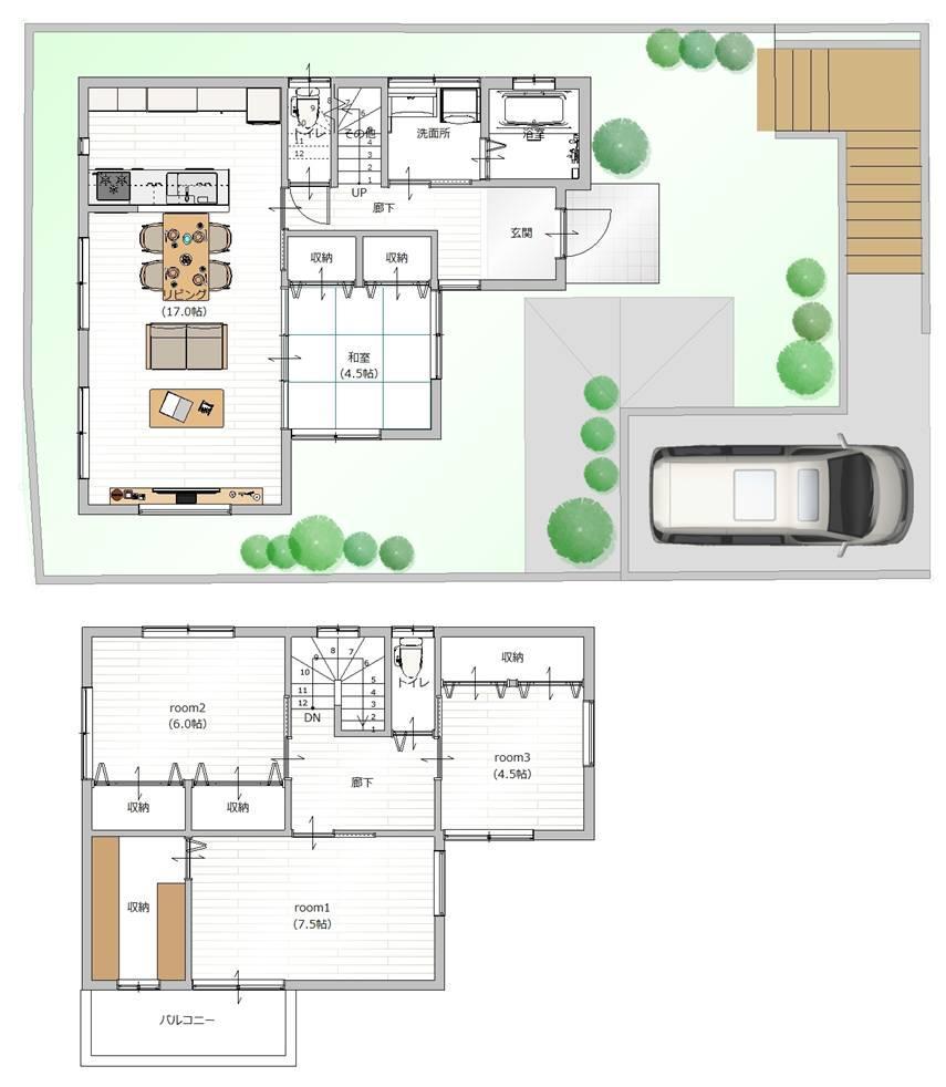 お客様のご要望に合わせて、建築家とプランを完成させていきます。