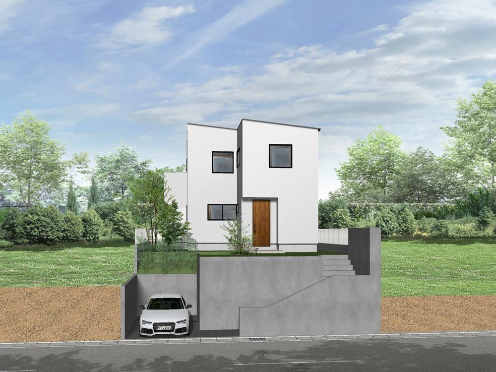 土地価格1700万円、土地面積165m<sup>2</sup> 建築家と打合せを重ね、こだわりの建物を建築して頂けます。