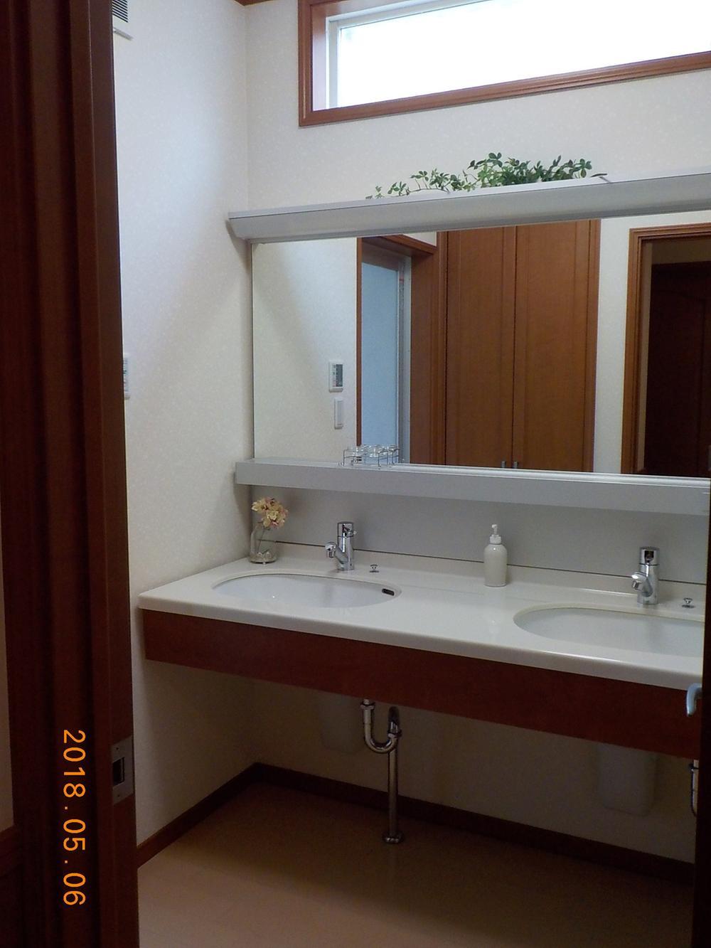 建物プラン例(C号地)洗面化粧台