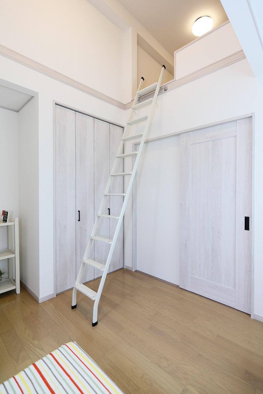 新モデルハウスE-12号地「ひろスマの家」子供部屋内オープンロフト