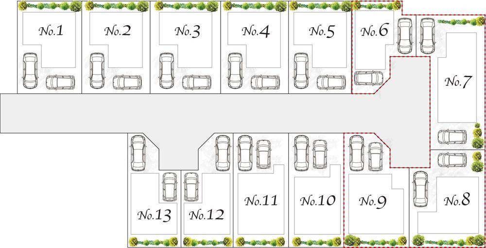 全13区画のNEWタウン新規分譲開始