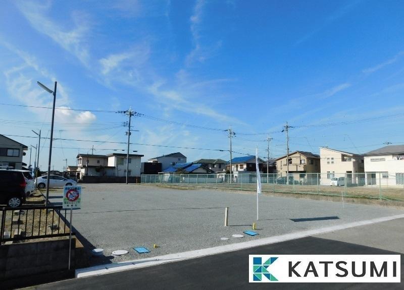 【現地写真】全4区画。約47坪~約50坪の広々敷地になります。