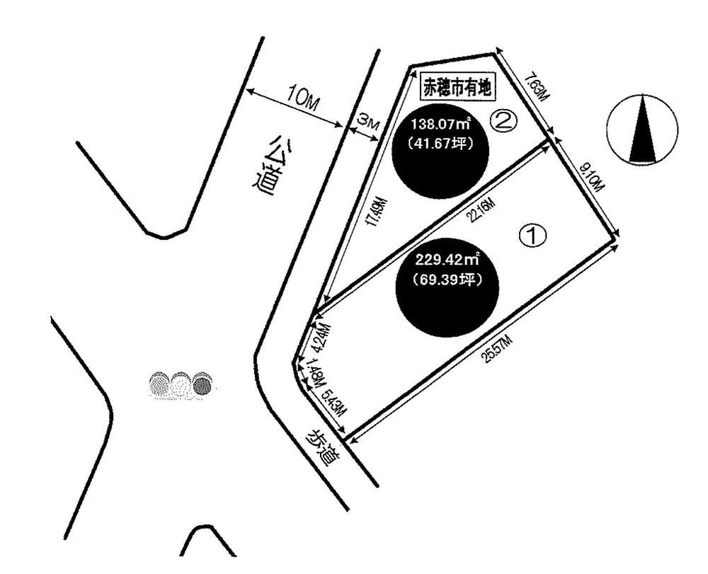 土地価格867万円、土地面積229.42m<sup>2</sup>