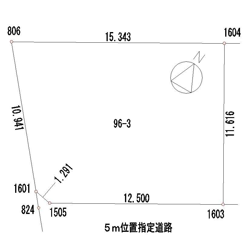 土地価格578万円、土地面積166.26m<sup>2</sup>