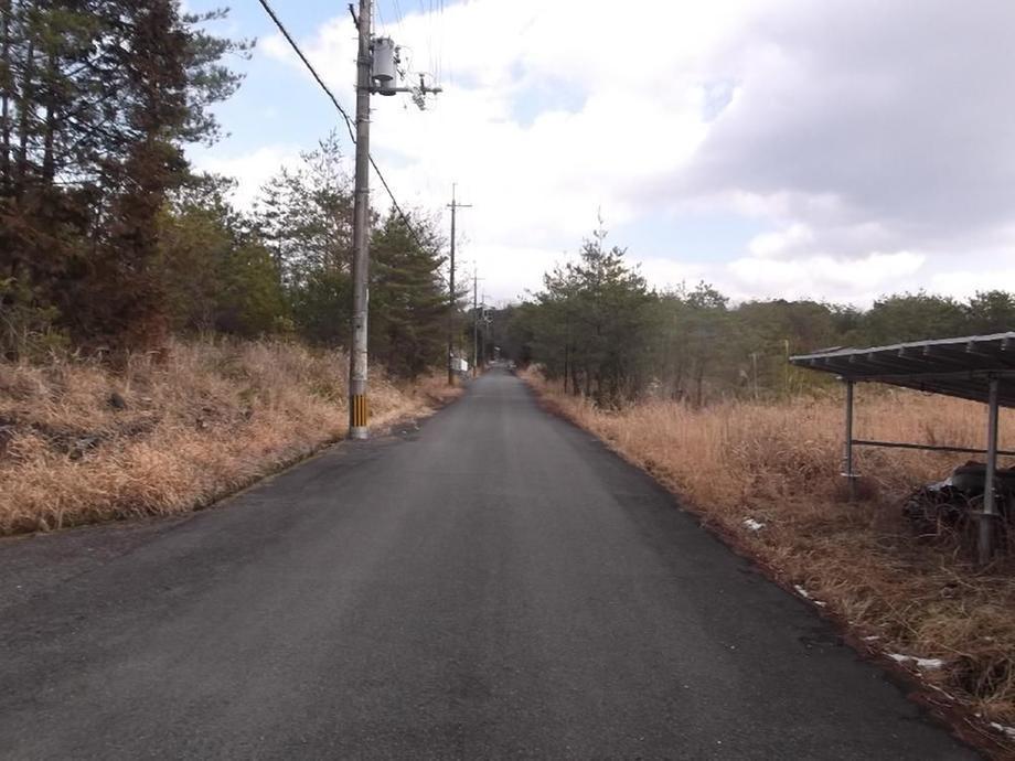 南西角からの南側道路