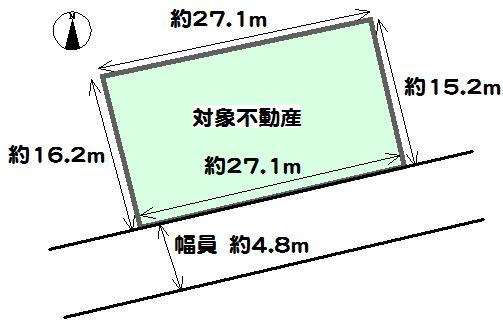 土地価格880万円、土地面積443.62m<sup>2</sup> 。約134.19坪。建築条件はございませんので、お好みのハウスメーカー・工務店でご家族の夢のマイホームを実現していただけます。