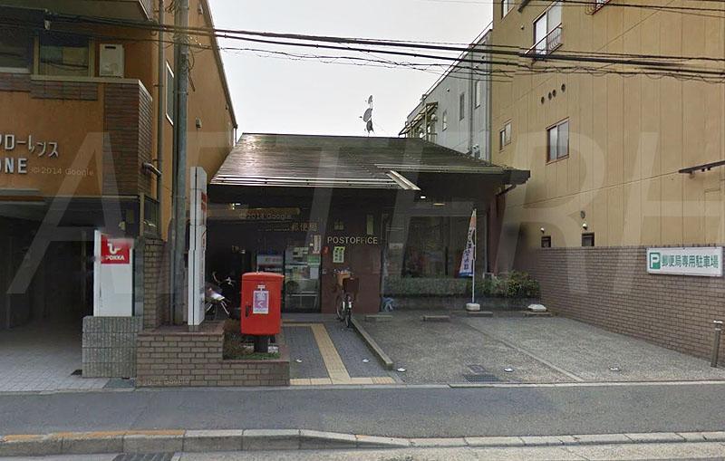 京都山田郵便局まで656m