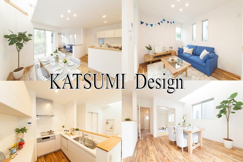 当社施工例 勝美住宅は自由設計です。満足のいくまで打ち合わせいただけます。