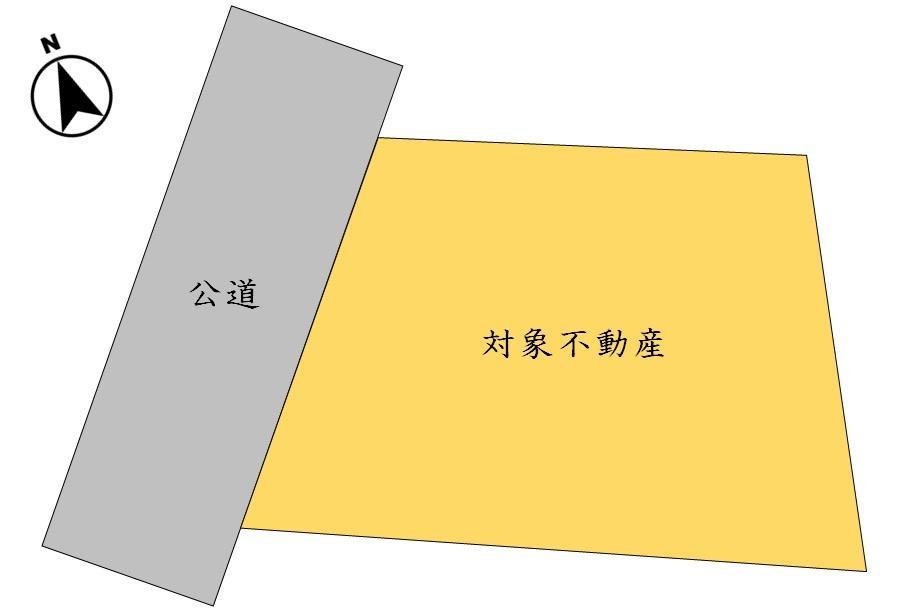 土地価格1570万円、土地面積370.74m<sup>2</sup>
