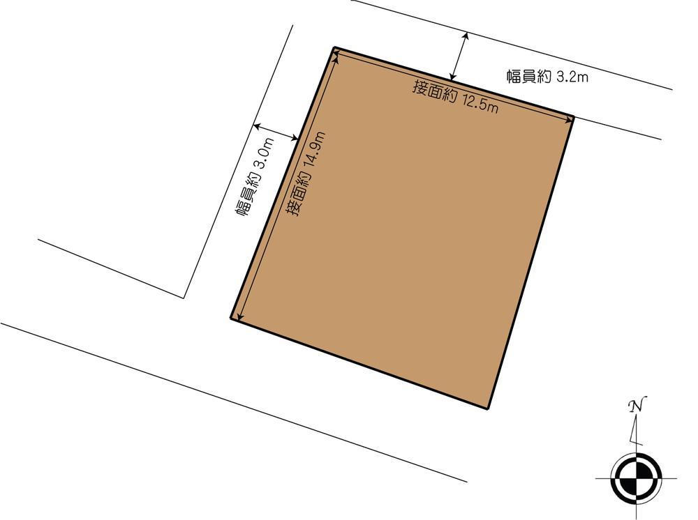 土地価格864万円、土地面積204.06m<sup>2</sup>
