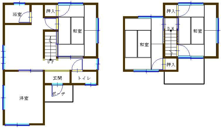 680万円、4DK、土地面積100.01m<sup>2</sup>、建物面積73.68m<sup>2</sup>