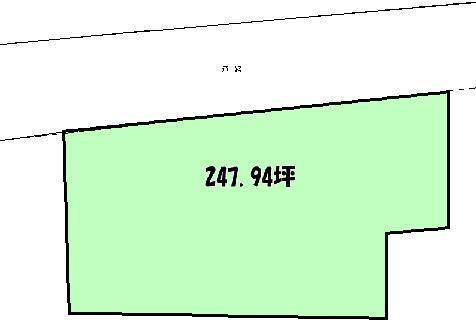 土地価格2479万円、土地面積819.64m<sup>2</sup>