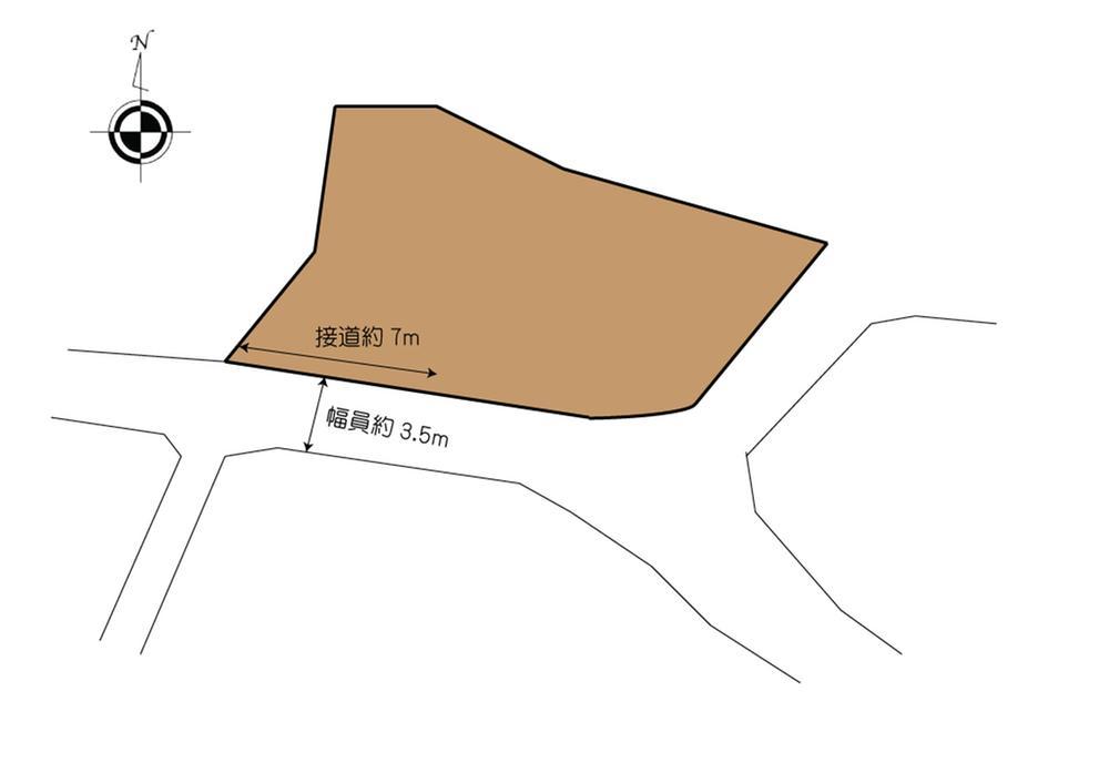 土地価格1440万円、土地面積243m<sup>2</sup>