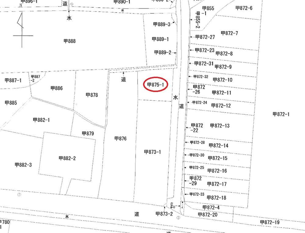 土地価格530万円、土地面積174m<sup>2</sup>