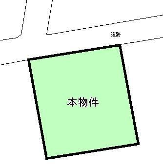 土地価格514万円、土地面積173.44m<sup>2</sup>
