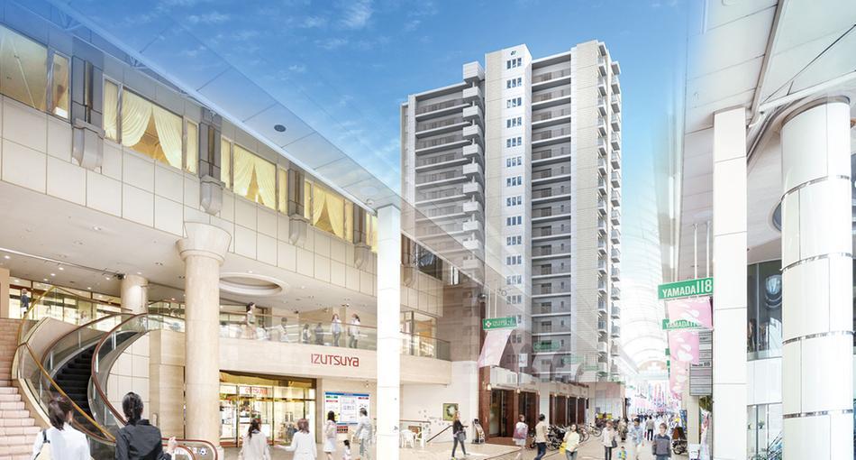 グランドパレス米屋町プライムマークスの建物の特徴画像