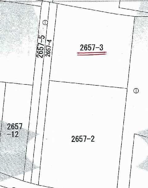 土地価格400万円、土地面積387.73m<sup>2</sup>