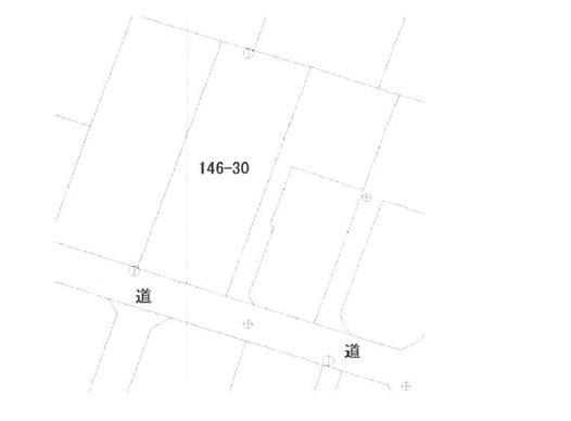 土地価格480万円、土地面積331m<sup>2</sup> 公図