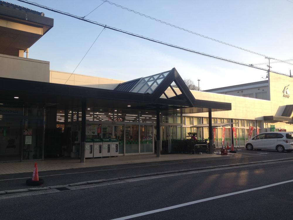 Aコープまで1300m この界隈はその他商店も多数あります。