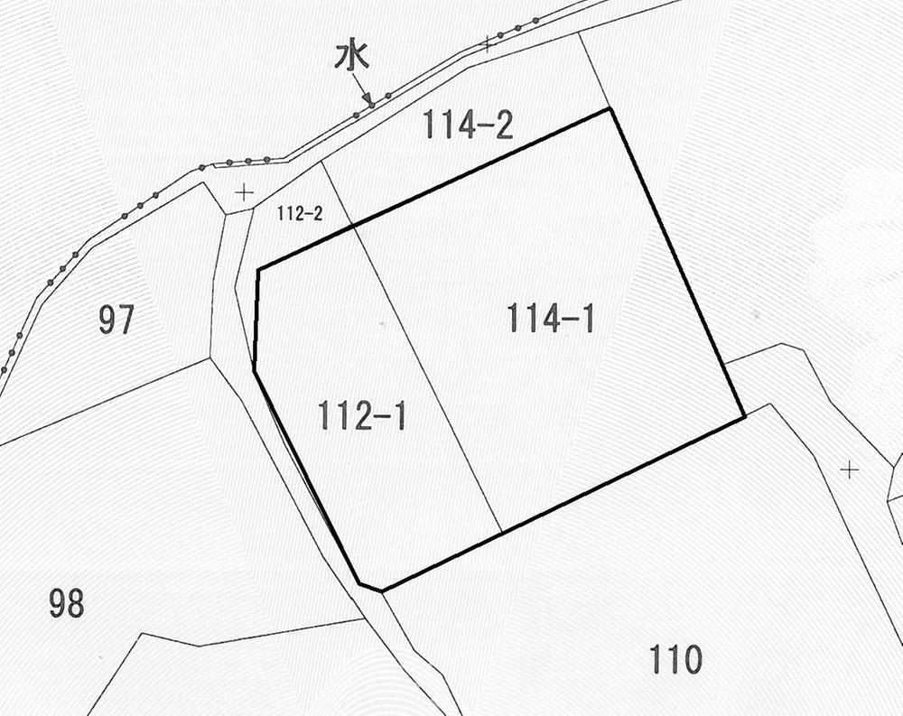 土地価格550万円、土地面積402.27m<sup>2</sup>