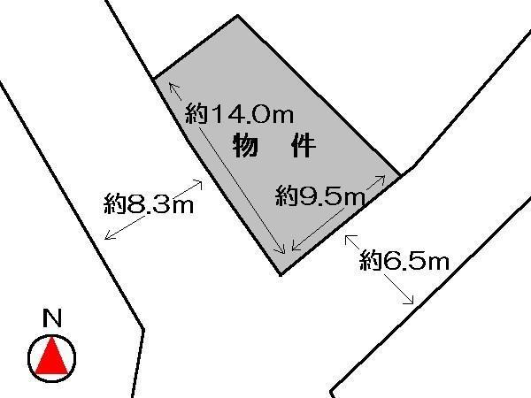 土地価格490万円、土地面積111.02m<sup>2</sup>