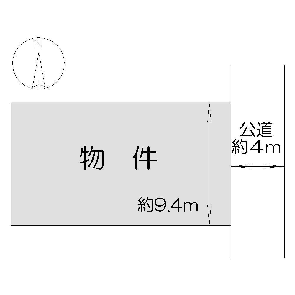 土地価格200万円、土地面積188m<sup>2</sup>